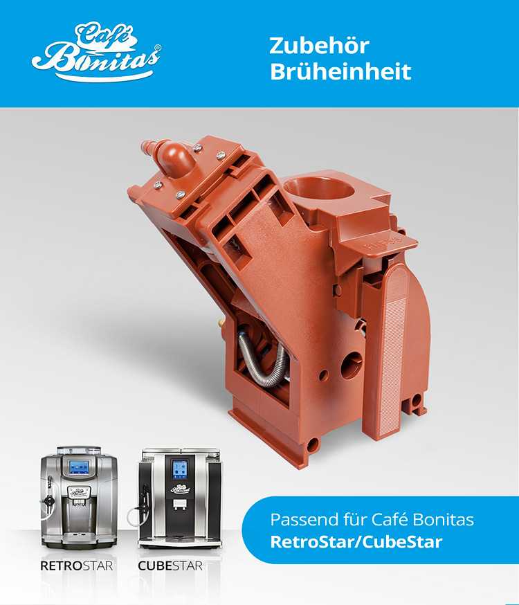 Café Bonitas Dichtungssatz Brühgruppe für Café Bonitas Kaffeevollautomaten