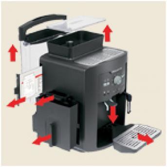 rowenta espresso vollautomat es 6805 daten vergleich anleitung reparatur und. Black Bedroom Furniture Sets. Home Design Ideas